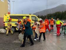 Na flink aantal evacuaties vaart Noors cruiseschip weer