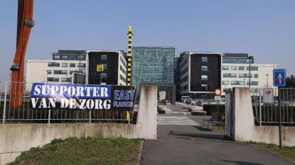 """""""Supporter van de zorg"""": ook Club Brugge-fans hangen spandoeken op aan ziekenhuizen"""
