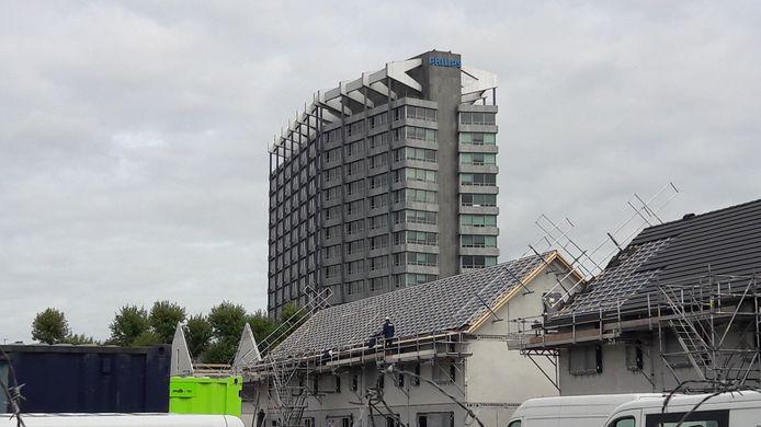 Woningbouw op Vredeoord in Eindhoven waar Sint Trudo sociale huurwoningen bouwt. Ook is er plaats voor kleine projecten van collectief particulier opdrachtgeverschap van eigenaar-bewoners en koopwoningen.