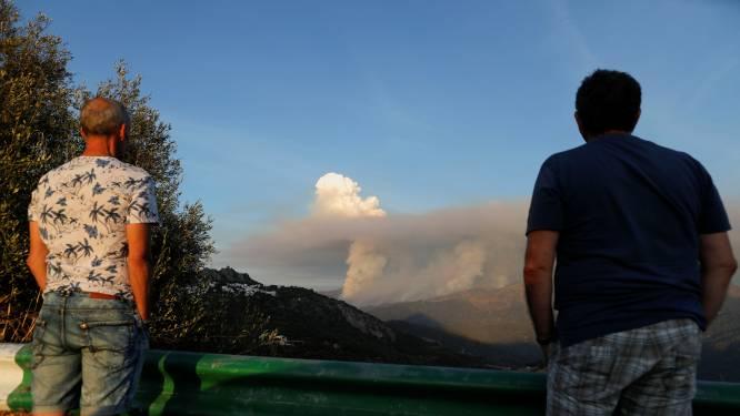 Meer evacuaties in de Costa del Sol op vijfde dag van Spaanse bosbranden, leger ingezet