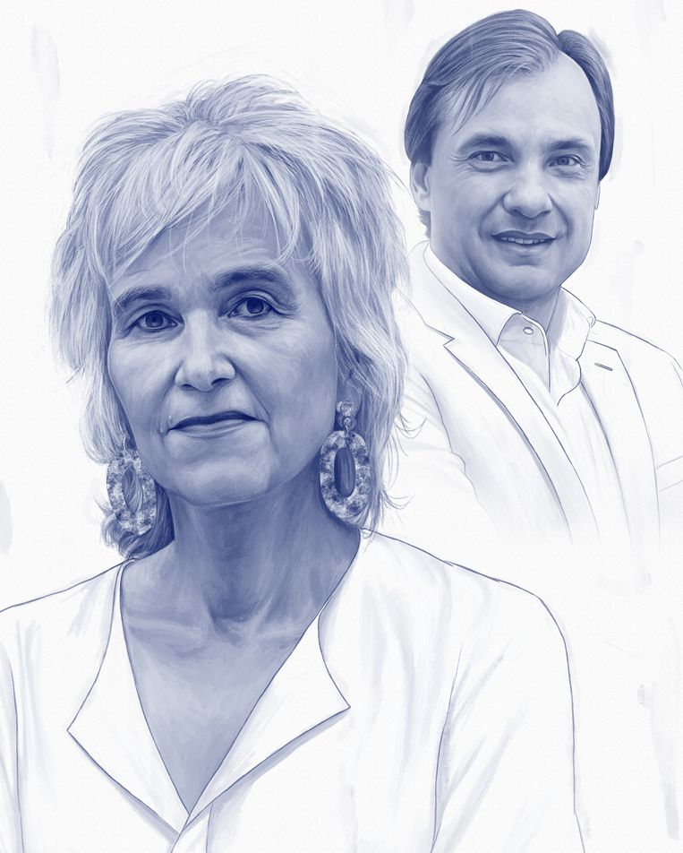 Marion Koopmans en Alex Friedrich. Beeld Kevin McGivern