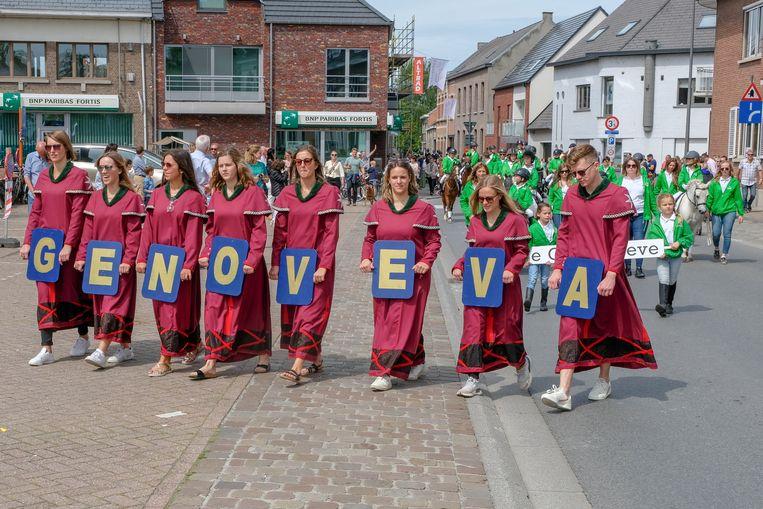 Sint-Genoveva processie