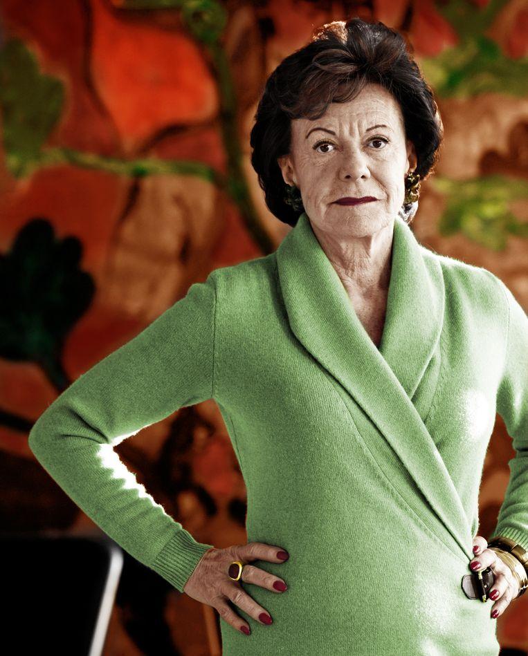 Neelie Kroes: 'Je moet zelf knokken'. Beeld Hollandse Hoogte / Beeldbewerkgin Liselore Kamping