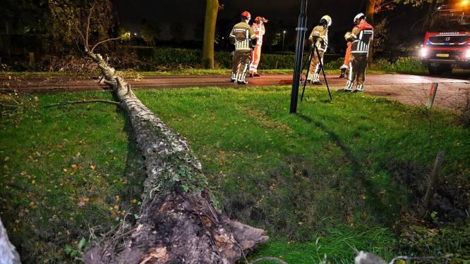 Storm in Brabant   Bijna 250 schademeldingen, attractie stort deels in op kermis