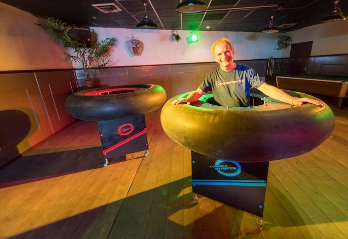 Johan Vlemmix wil eerste Coronabumperbar in voormalig café De Ster in Leende openen.