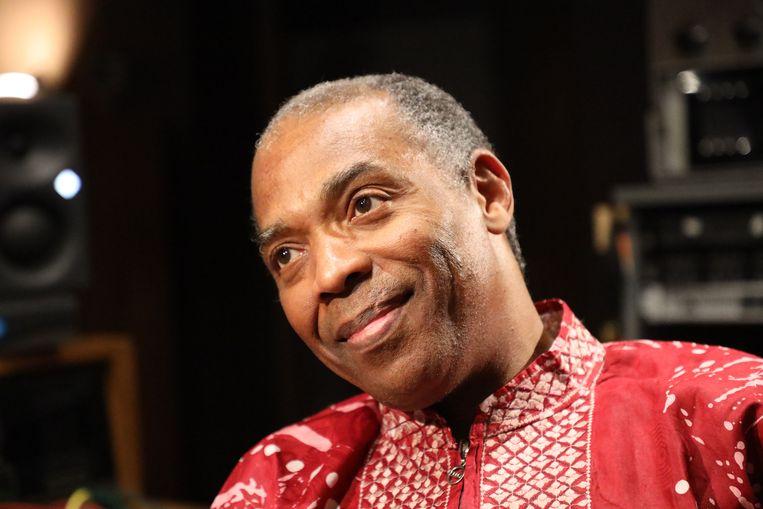 Muzikant Femi Kuti, de oudste zoon van Fela Kuti. Beeld BBC