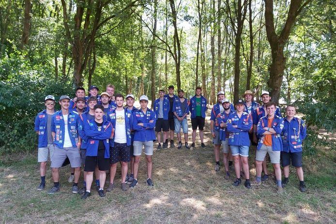 Het kamp van KSA Sint-Gerolf Lede start zondag niet in Viroinval, maar wel in Zutendaal.