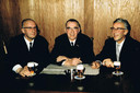 Jan, Frans en Piet, de vijfde generatie omstreeks 1963.