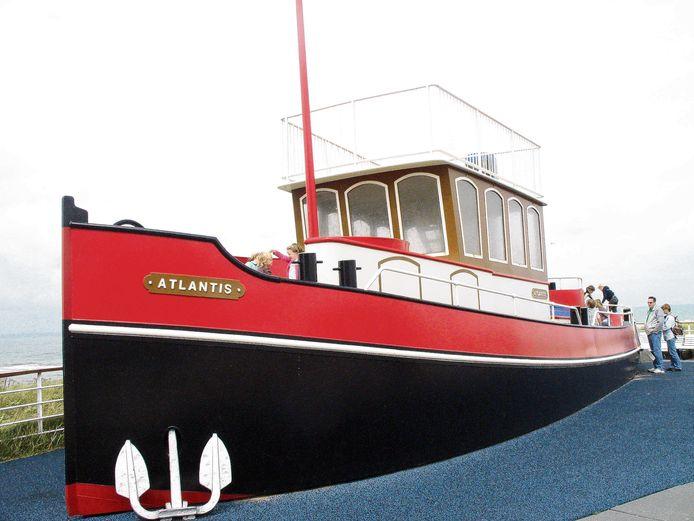 Archiefbeeld ter illustratie: Kijkduin speelboot.