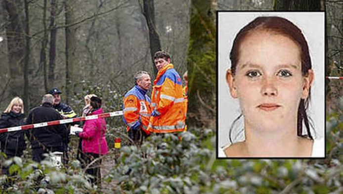 Het lichaam van Mariska werd na twee weken gevonden door een team met speurhonden