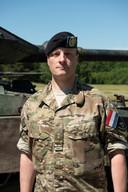 Plaatsvervangend bataljonscommandant Timo de Borst.