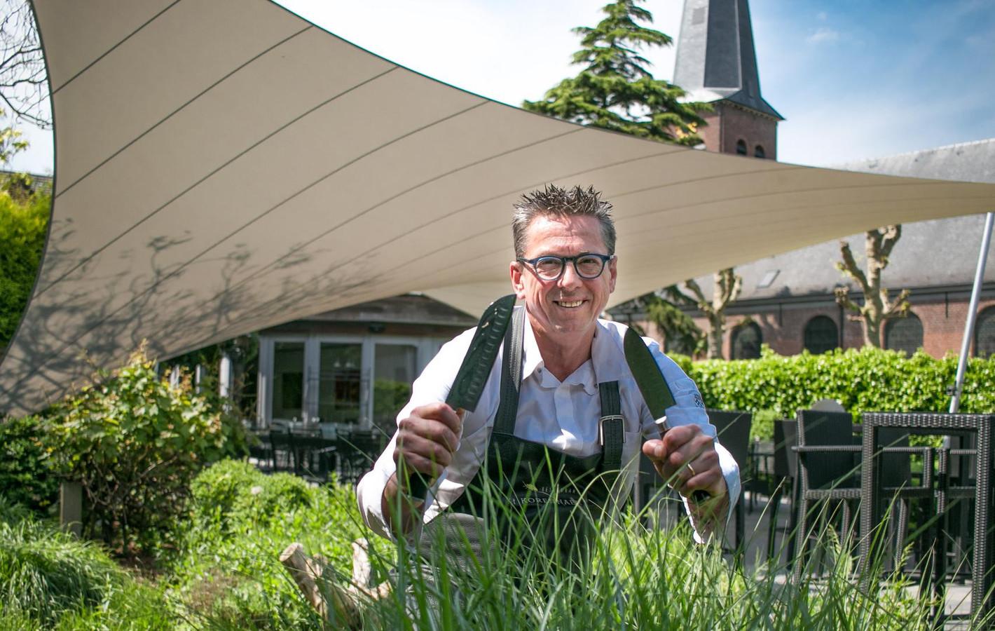 Chef Edwin Van Goethem van 't Korennaer.