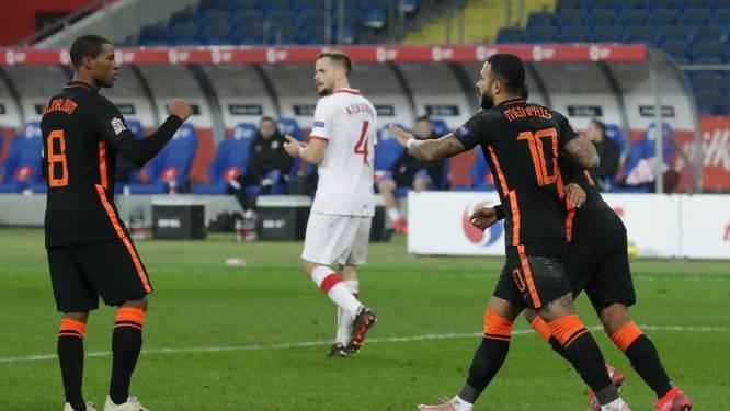 Oranje ook onder De Boer aanvallend erg afhankelijk van het duo Depay-Wijnaldum