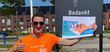 Boutens haalt ruim 3.000 euro op voor stichting Spieren voor Spieren