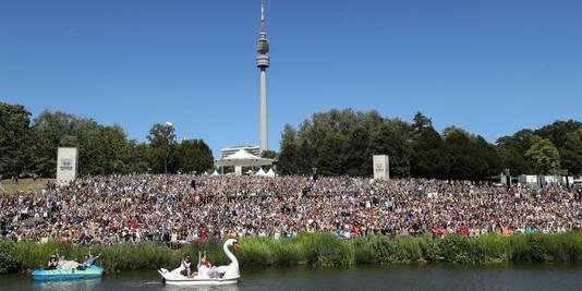 Duizenden 'trainers' verzamelden 30 juni en 1 juli in Dortmund.