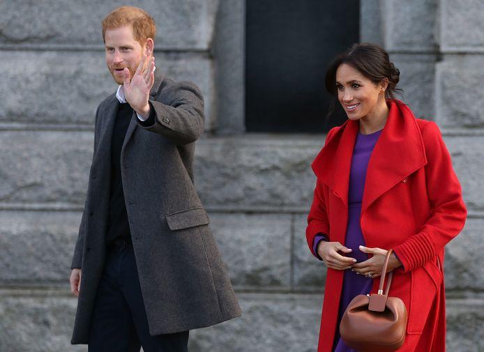 Le prince Harry et son épouse Meghan Markle.