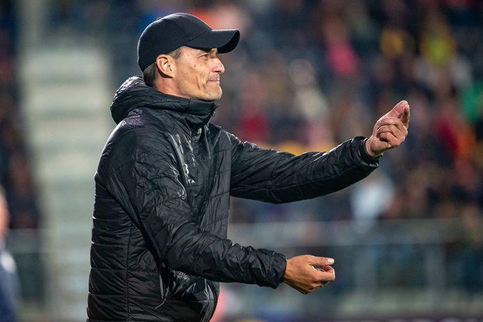 Coach van het jaar Alexander Blessin voelt zich thuis bij KV Oostende en verlengde onlangs zijn contract tot 2024.