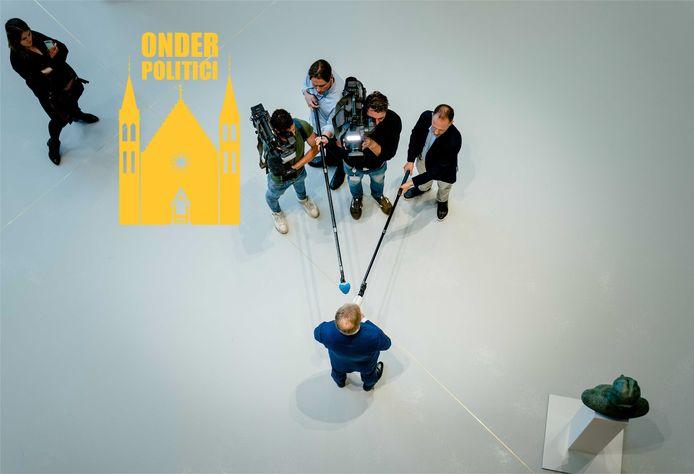 Pieter Omtzigt kwam woensdag terug in de Tweede Kamer.
