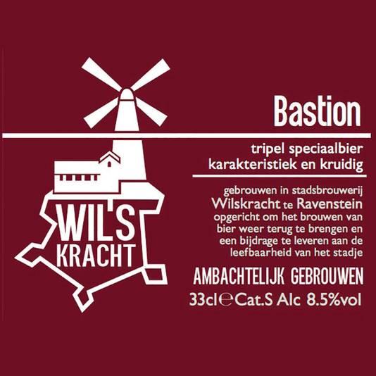 Brabants Lekkerste Bier 2016: Bastion van Wilskracht uit Ravenstein.