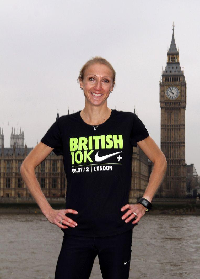 Paula Radcliffe Beeld UNKNOWN