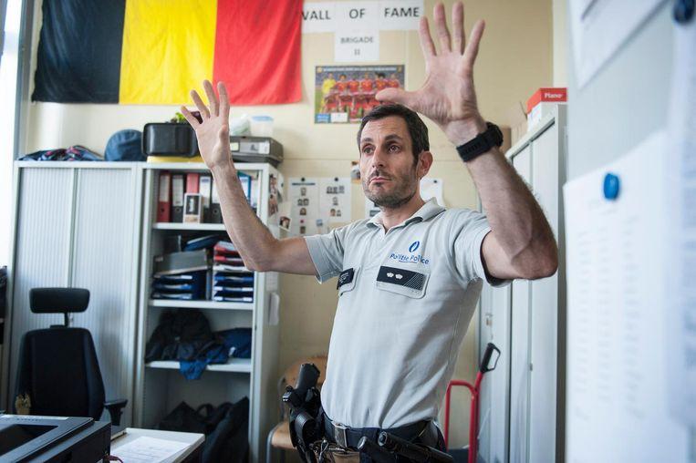 Gunther Vanden Eynde: 'Opstootjes horen erbij in Molenbeek.' Beeld null