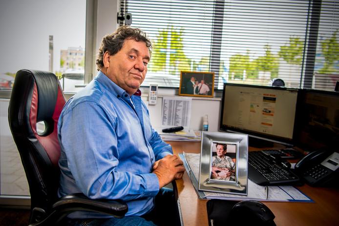 Ron Paternoster is de zoon van een van de slachtoffers van de insulinekiller. Zijn moeder overleed in De Wetering. Foto: Frank de Roo
