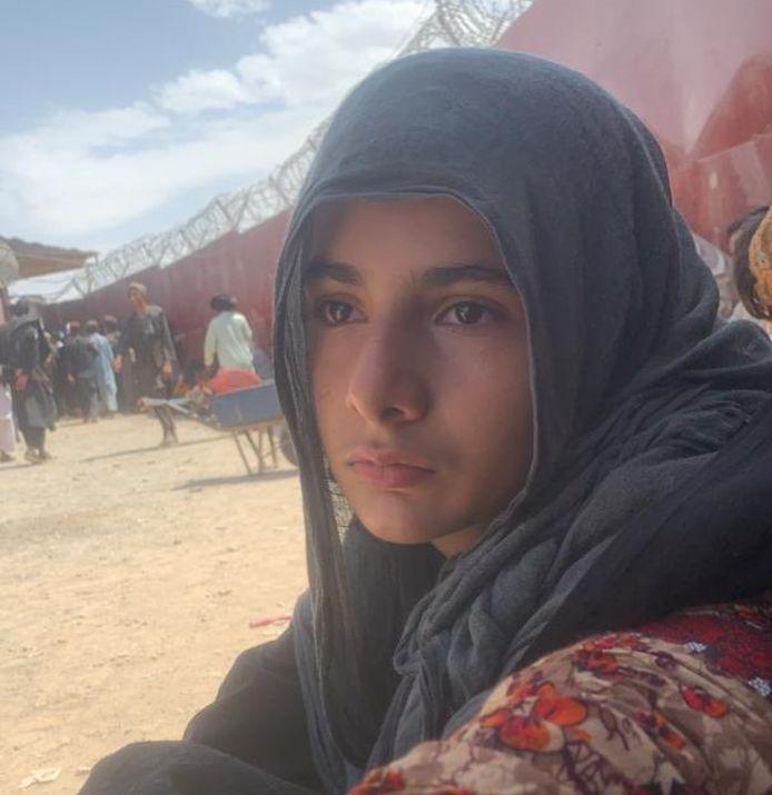 Ook aan de grens met Pakistan lukte het de familie van Laila Fayaz Paikan niet om Afghanistan te ontvluchten.