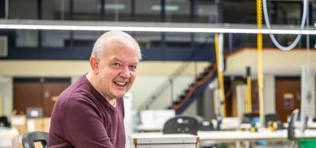 """Peter Sijben vijftig jaar bij Senzer""""Helaas geen uitgebreide viering, maar in de krant is 'een goede tweede'"""