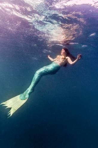 Deze Gentse fotografe bewijst dat zeemeerminnen echt bestaan