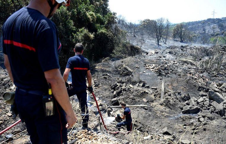Eind juni legde een natuurbrand al een deel van het departement Gard in de as. (Archieffoto)