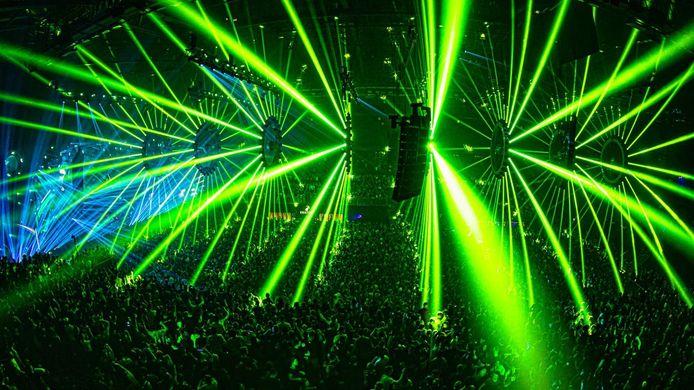 Het hardstylefestival Reverze staat bekend om z'n indrukwekkende lichtshows in het Sportpaleis.