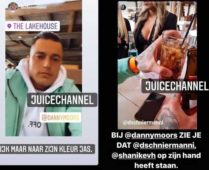 'Ex on the Beach: Double Dutch S7': Davey heeft de naam van Shani op z'n hand staan.