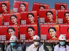 Ex-president Myanmar voor de rechter wegens illegaal invoeren en gebruiken van walkietalkies