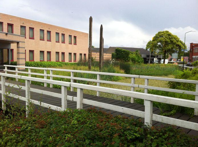 Het voormalig politiebureau in Gemert.