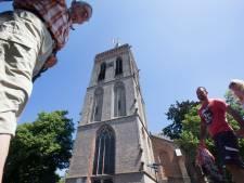 Oude Kerk Ede komt in de steigers