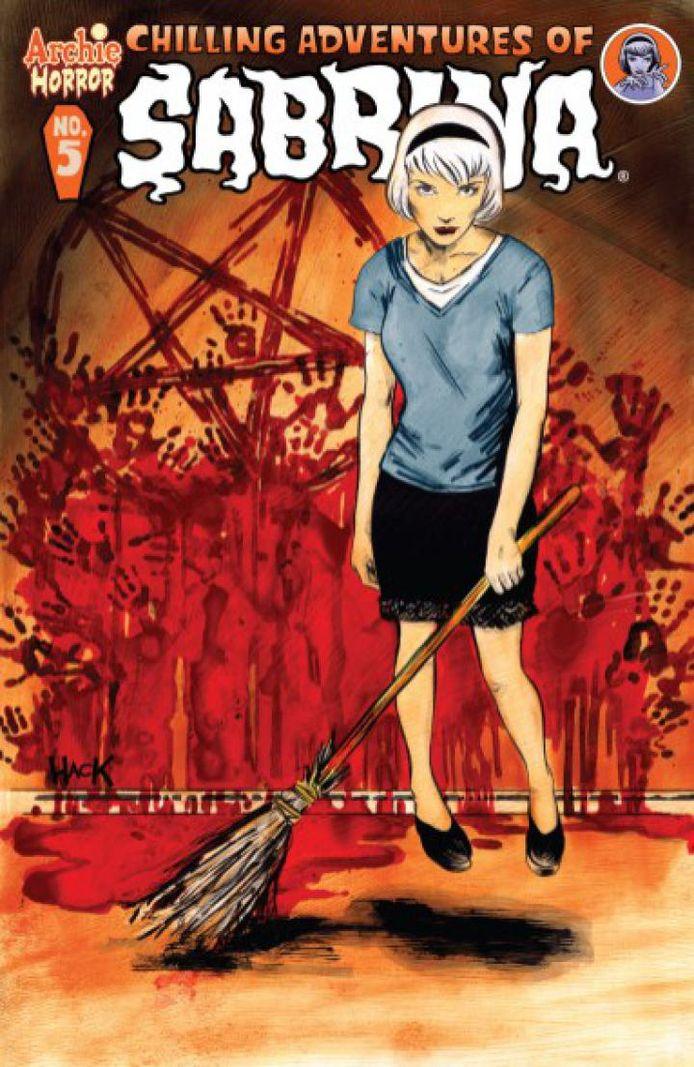 De graphic novel waarop de serie gebaseerd is.