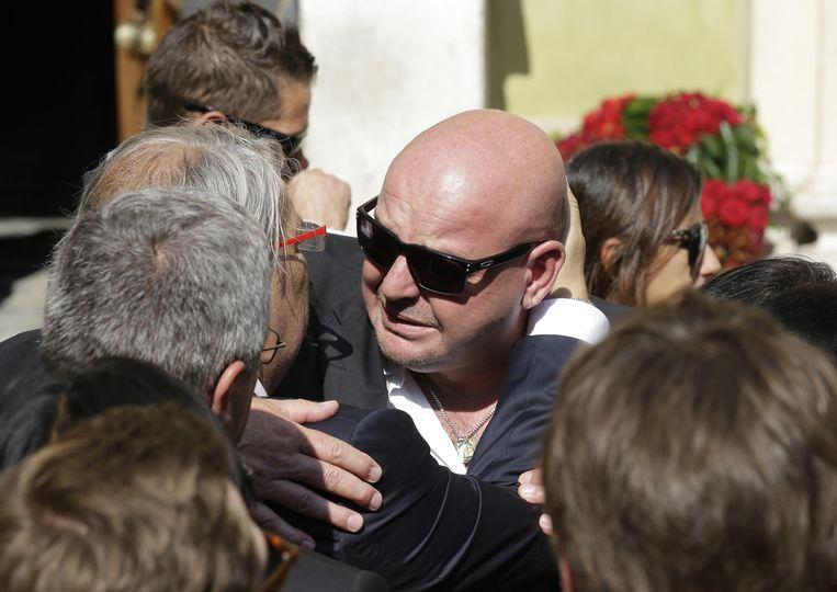 Philippe Bianchi, Jules' vader, is ontroostbaar. Beeld AP