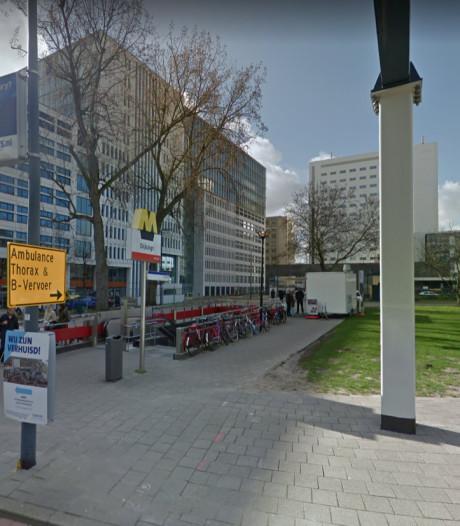 Metroverkeer gestremd na ongeval station Dijkzigt