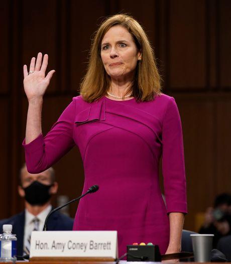 Amerikaanse Senaat stemt maandag over Barrett als lid Hooggerechtshof