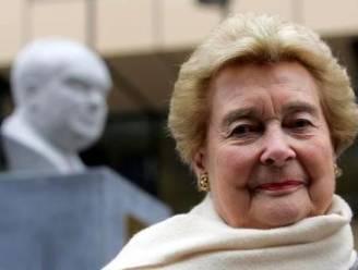 Antoinette Spaak (81) gaat Brussels parlement verlaten