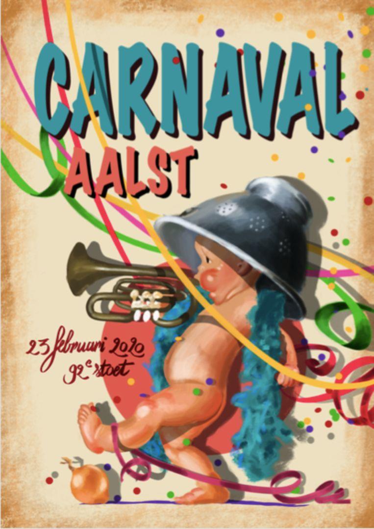 Affiche Aalst carnaval