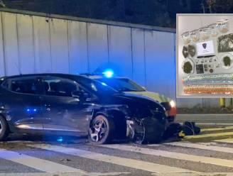 Twintiger die wegvluchtte van politie en crashte krijgt 2 jaar met uitstel voor drugshandeltje