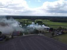 Grote brand in kantoorpand Vorden geblust: lastige klus voor brandweer