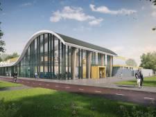 Zo ziet de nieuwe entree van het Twentebad in Hengelo er uit