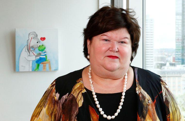 Minister van Volksgezondheid Maggie De Block (Open Vld). Beeld REUTERS