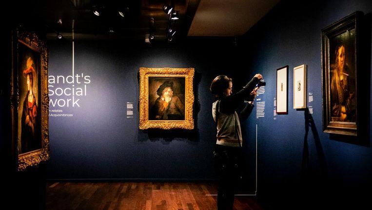 Museum het Rembrandthuis organiseert het feestje in het kader van het landelijke themajaar Rembrandt en de Gouden Eeuw. Beeld anp