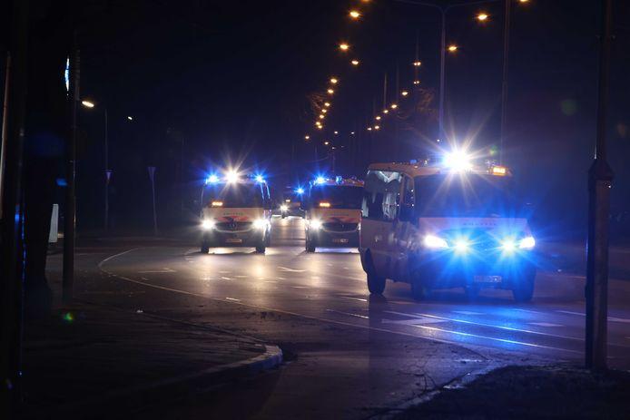 Politie in Den Bosch.