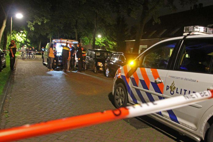 De steekpartij met dodelijke afloop vond plaats in een woning aan de Boslaan in Marknesse.