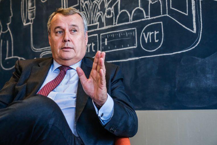 VRT-CEO Paul Lembrechts zette tweede in rang Claes op non-actief. Beeld Tim Dirven
