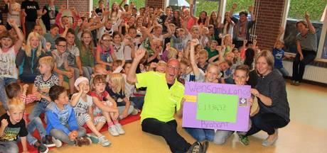 Leerlingen basisschool uit Biezenmortel maken ruim zes wensritten mogelijk